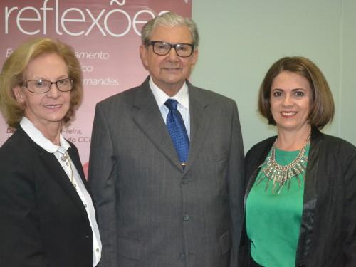 Ivone, Paulo e Lis Fernandes