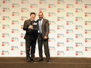À esquerda: Diretor Regional do Sesc/RS, Luiz Tadeu Piva