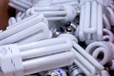 Descarte de lâmpadas