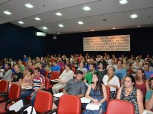 Mais de 70 gestantes e acompanhantes participaram do Curso de Gestantes do HC