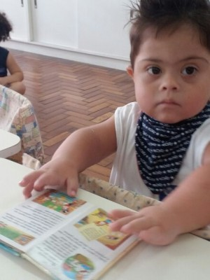 Gabriel estuda na Uri e tem seu espaço social garantido na Escola