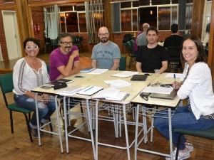 Comissão responsável pela organização do 1º Festival de Coros do Norte Gaúcho