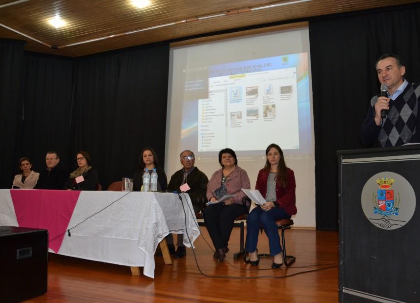 Prefeito Mauricio Soligo fez a abertura da Conferência