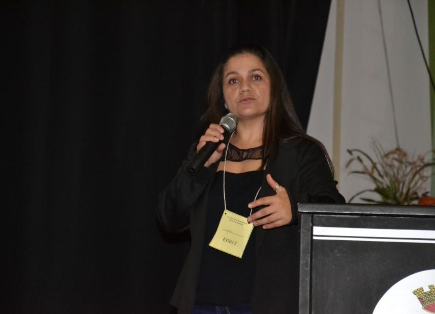 Secretária municipal de Saúde, Graciele Débora Possenti, falou sobre as ações da Secretaria