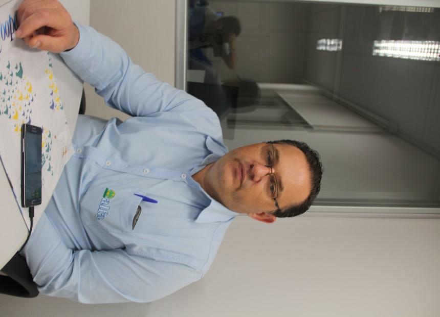 Jorge Brock, supervisor de filiais para o Alto Uruguai