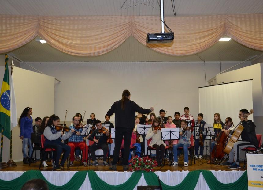 Orquestra Sinfônica na abertura da Conferência