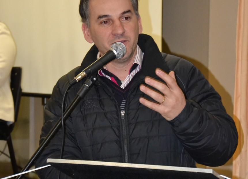 Prefeito Mauricio Soligo na abertura da Conferência