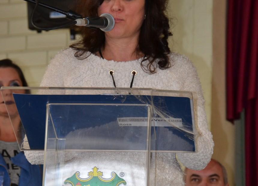 Secretária Municipal de Educação, Cultura e Desporto, Sandra Betiatto