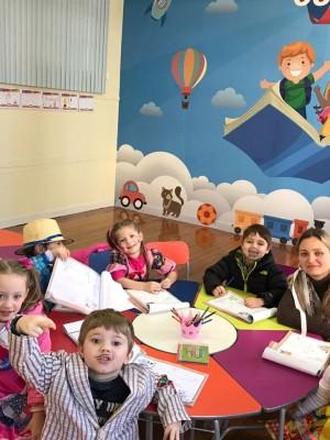 Sala de aula Baby Class no Colégio Franciscano São José