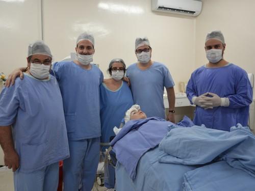 Vanderlei Bottega, Guilherme Omizzolo,  Fernanda Algarvel, Rogério Soliman e Roberto Zanin