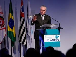 São Paulo - O presidente Michel Temer discursa na abertura do 27º Congresso e ExpoFenabrave (Alan Santos/PR)