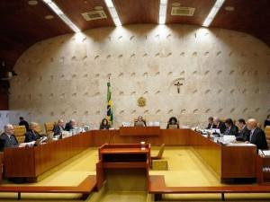 Brasília - Sessão do Supremo Tribunal Federal (STF) para decidir se parlamentares podem ser afastados do mandato por meio decisões cautelares da Corte e se as medidas podem ser revistas pelo Congresso (Rosinei Coutinho/SCO/STF)