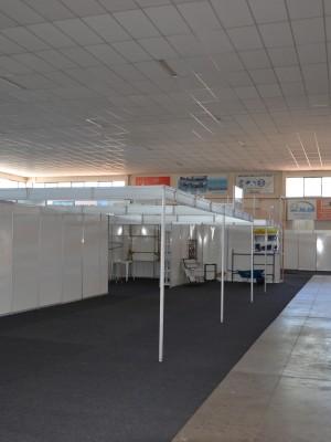Montagem dos estandes inicia nesta segunda-feira (1)