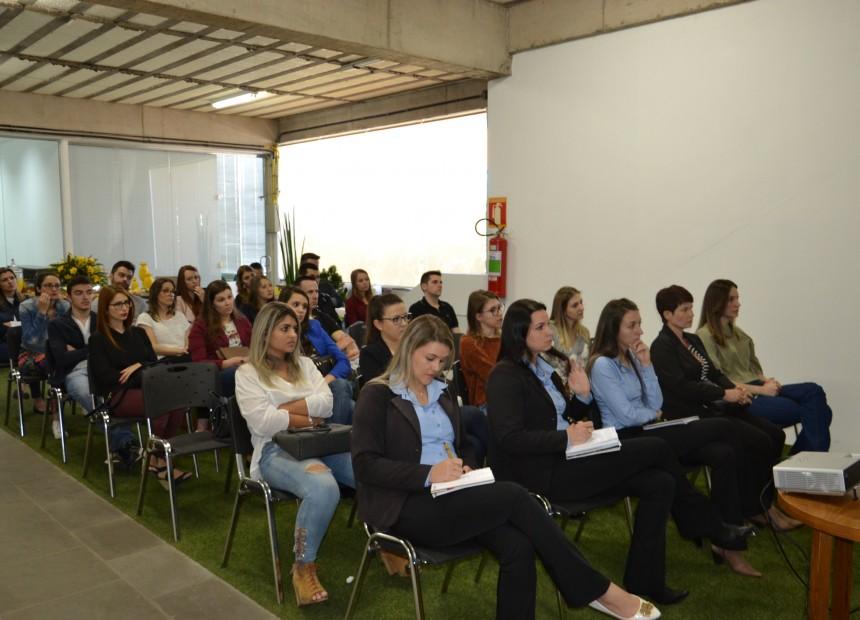 Público da palestra foi formado por arquitetos