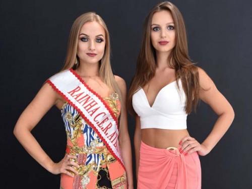 Rainhas Naíra Eliza Menegat e Amanda Marchesan Condah