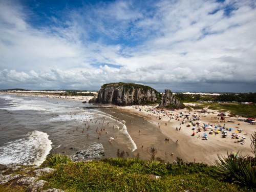 TORRES, RS, BRASIL, 08.03.11: Praia da Guarita. Foto Eduardo Seidl/Palácio Piratini