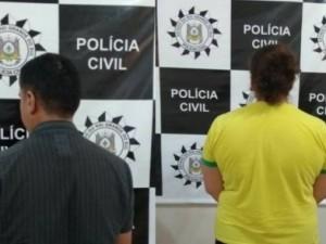 Casal é preso por abusar da filha de 4 anos em Agua Santa