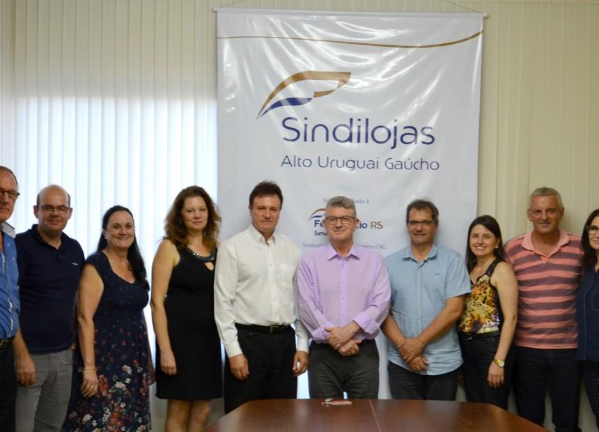 Diretoria do Sindilojas Alto Uruguai