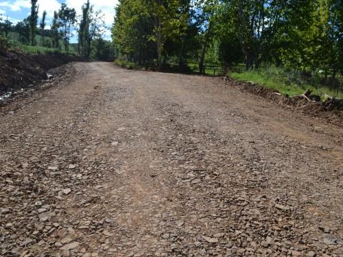 Manutenção de estradas - Charrua