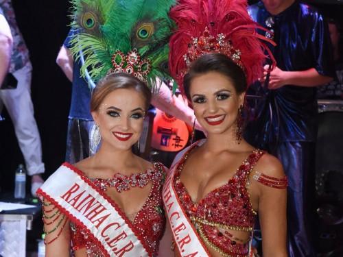 Rainhas do CER Atlântico Naíra e Amanda