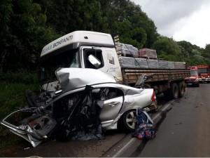 acidente honda civic