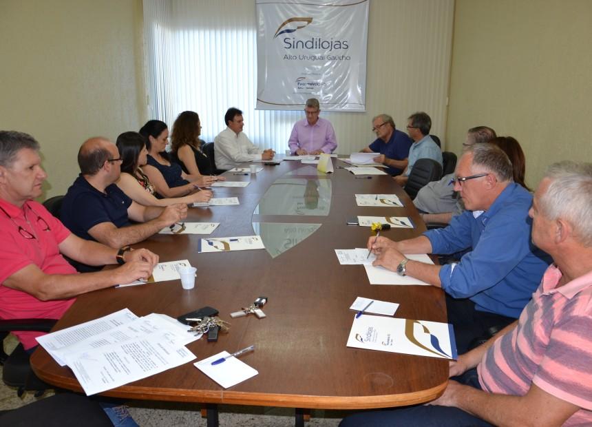 Última reunião de diretoria presidida por Francisco José Franceschi