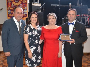 lions Casal Governador do Distrito LD-7,  Renato Carlos e Jozeli de Souzla