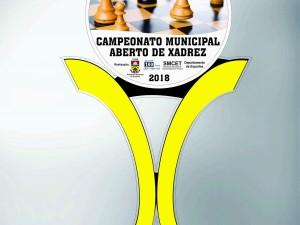 Troféu CAMPEONATO MUNICIPAL ABERTO DE XADREZ