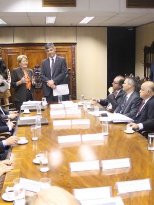 reunião ministerio transportes