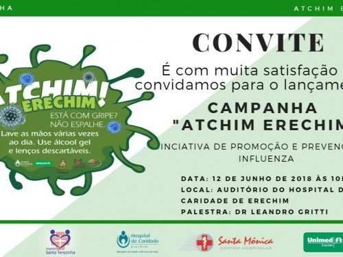 convite Campanha Atchim