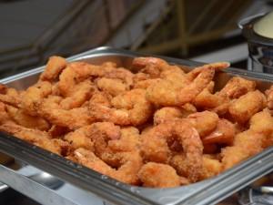 Camarão será o prato principal da noite de sábado (1)