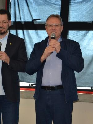 Fábio Vendruscolo e o Patrono da Frinape 2018, Claudionor José Mores