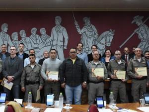 Matéria - congratulações brigada