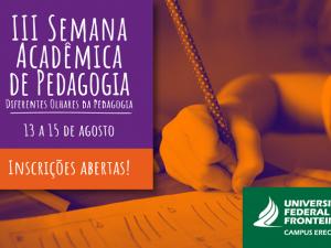 semana pedagogia destaque campus