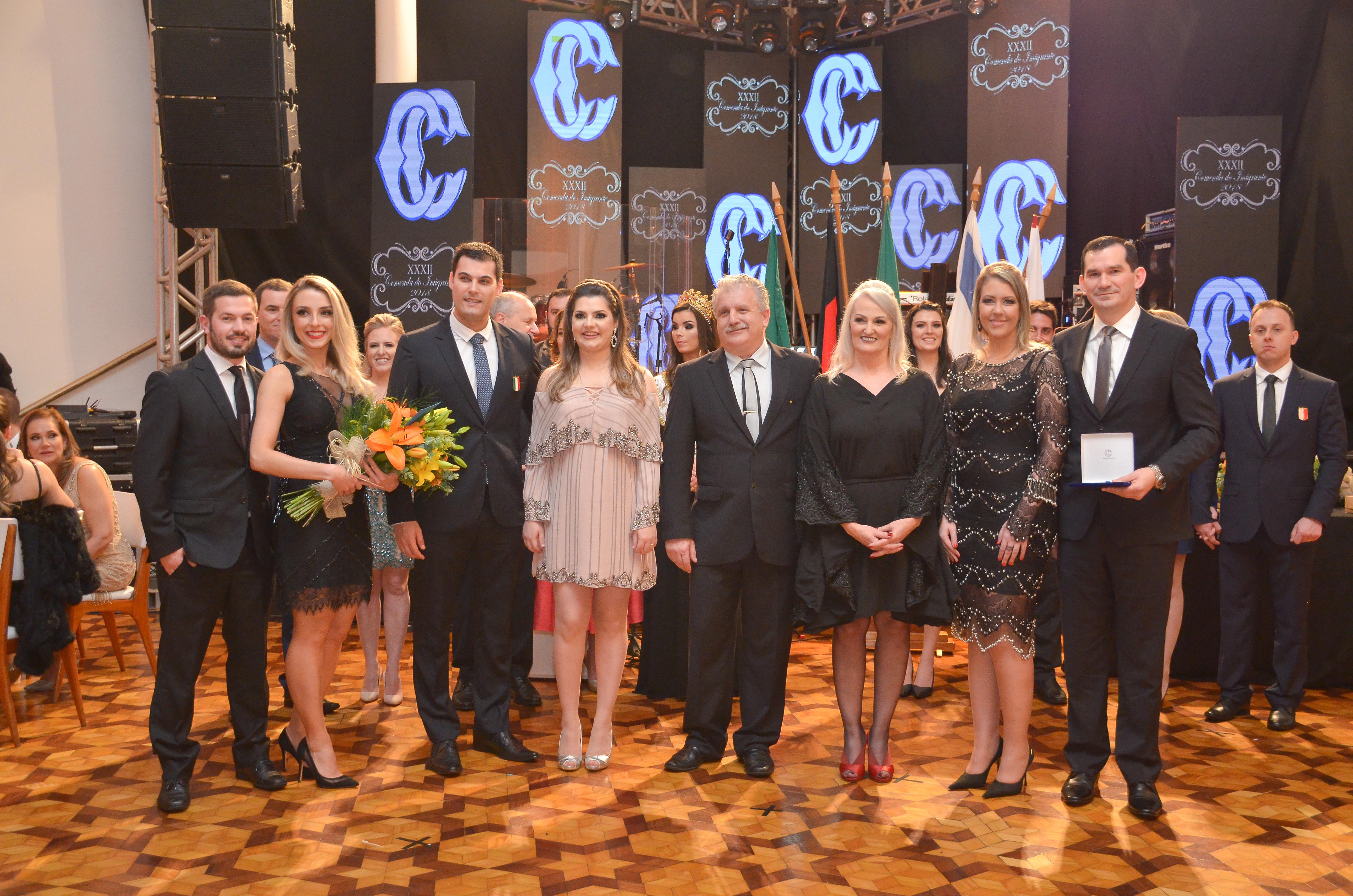 Comendadores 2019, 2018 e 2017 da Etnia Italiana