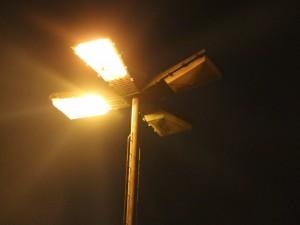 luminaria tipo pétala
