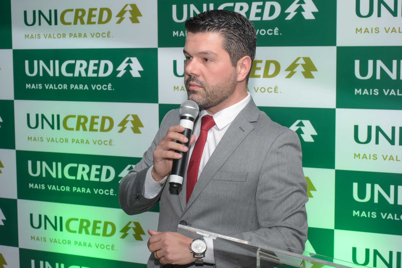 Diretor geral da Unicred Central RS, Rodrigo Borges