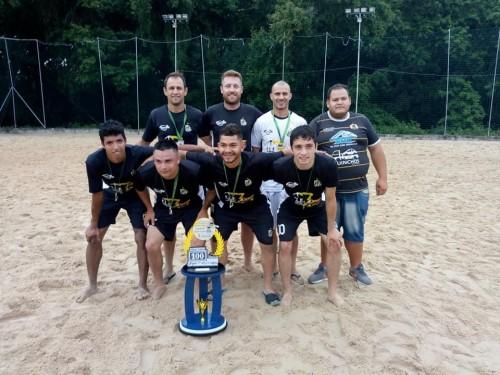Equipe Campeã - Pirados B. creditos Dep. de Esportes