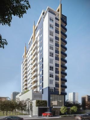 Fachada novo empreendimento Edifício Oro Cittá