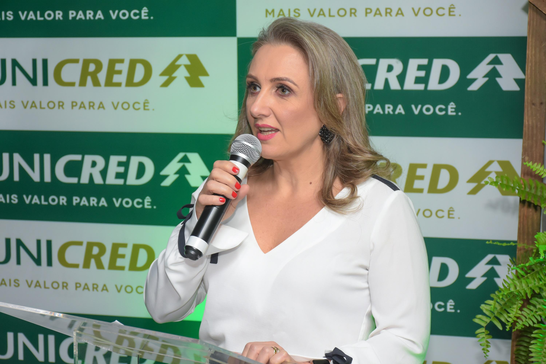 diretora-geral da Unicred Erechim, Vania Balestrin