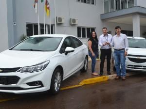 Prefeitura de Charrua adquire novos veículos