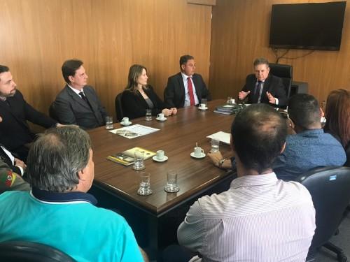 Reunião com vice-governador