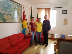 Visita ao município de Viadutos