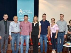 Representantes dos hospitais associados à Hospinorte na primeira reunião do ano