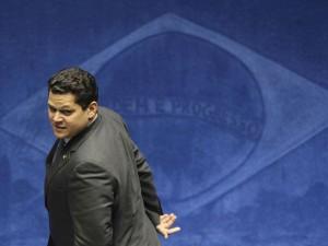 Plenário do Senado incia o processo de votação para escolha de seu novo presidente. Na foto, Davi Alcolumbre