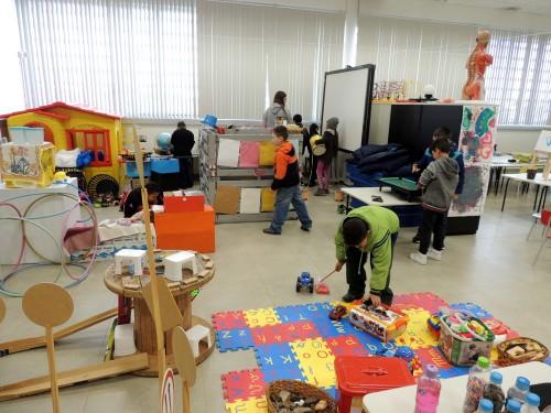 03072018 Visita de crianças na Brinquedoteca - Juliana dos Santos (10)