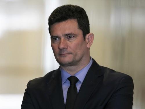 Ministro Sérgio Moro após encontro com a presidente Jair Bosonaro. BsB, 19-02-2019. Foto: Sérgio Lima/PODER 360