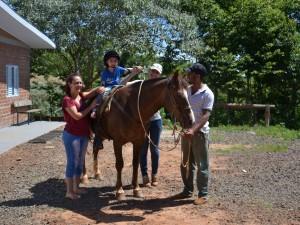 Equoterapia no Patronato Agrícola e Profissional São José