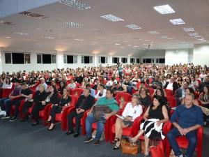 Mais de 450 pessoas presentes no Fórum da Educação de Getúlio Vargas
