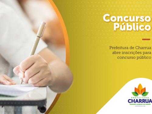 Prefeitura de Charrua abre inscrições para concurso público